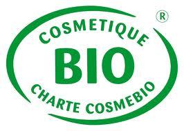 Logo de la certificación Cosmebio